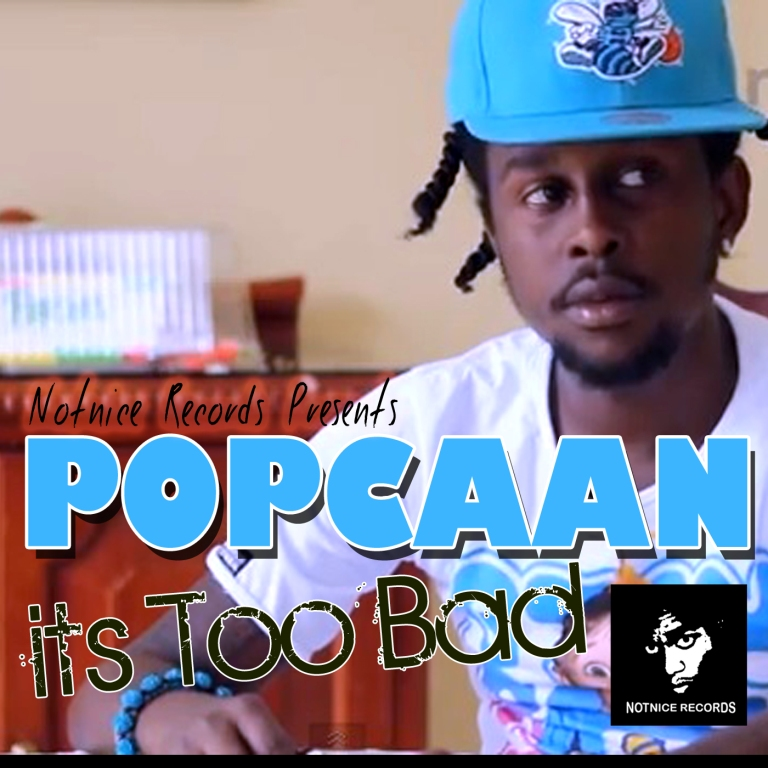 popcaan its too bad cover